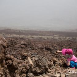 Das Plateau unterhalb des Pico del Teide