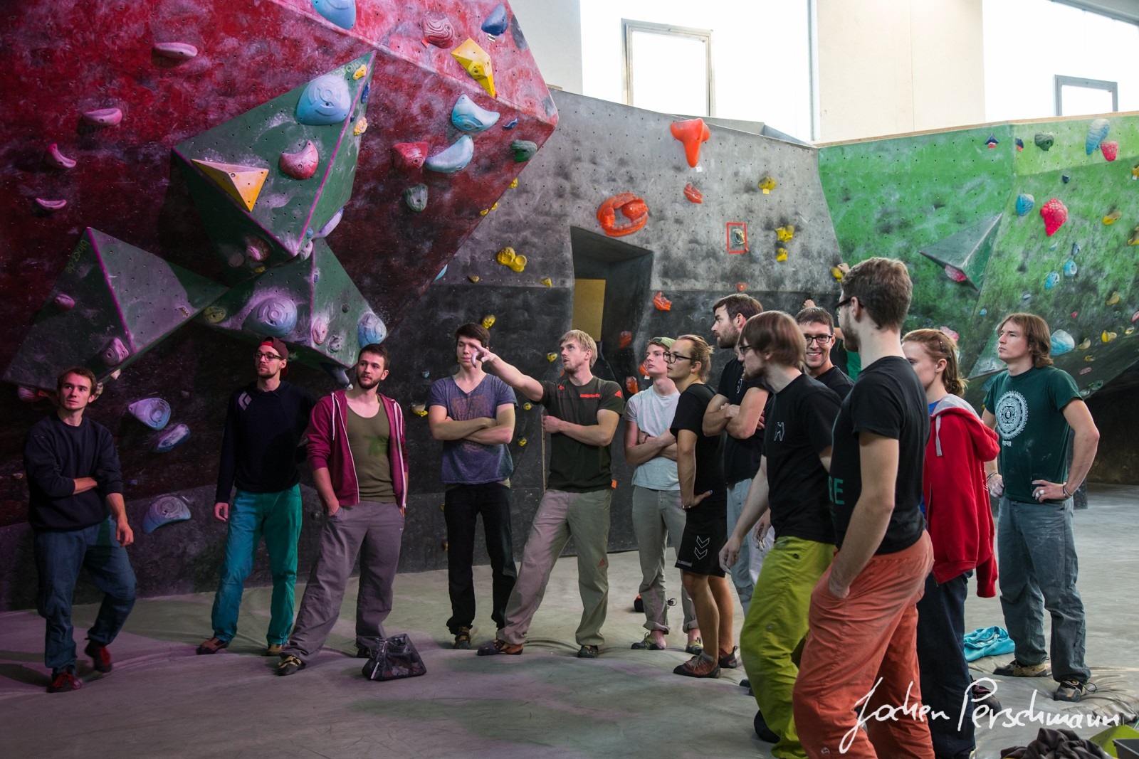 "Boulder workshop ""Boulderhaus Heidelberg"", November 2015"